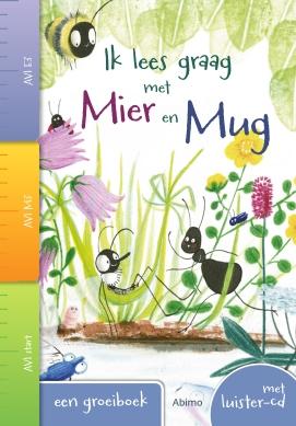 Een boek over vriendschap, insecten, natuur, voor eerste lezers, avi-niveau