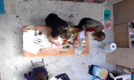 Mini-cursus kinderboek maken. In het voor- en najaar, twee zaterdagen van 10.00 - 16.00. Eerstvolgende mini-cursus: 25 maart en 1 april 2017. Prijs: 130,- inclusief btw, materiaal en lunch