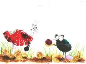 Ik lees graag met mug en mier, Katrien Vandewoude, Van Halewyck 2015