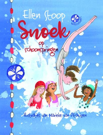 De Watervlinders deel 2: Snoek op schoonspringen, geschreven door Ellen Stoop, voorjaar 2018 bij Uitgeverij Holland