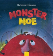 Monstermoe, tekst en tekeningen, Clavis, augustus 2017